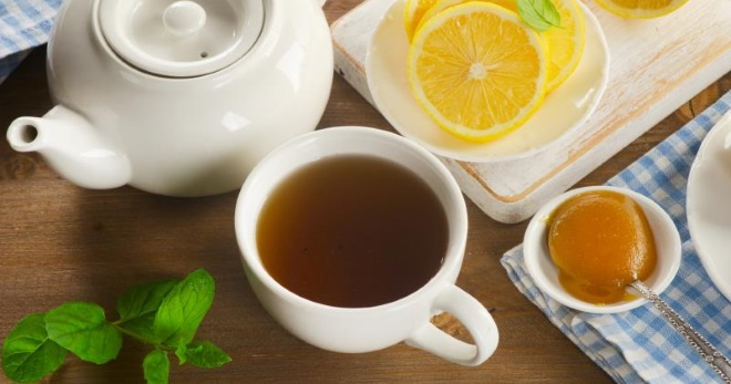 чай с лимоном приготовление